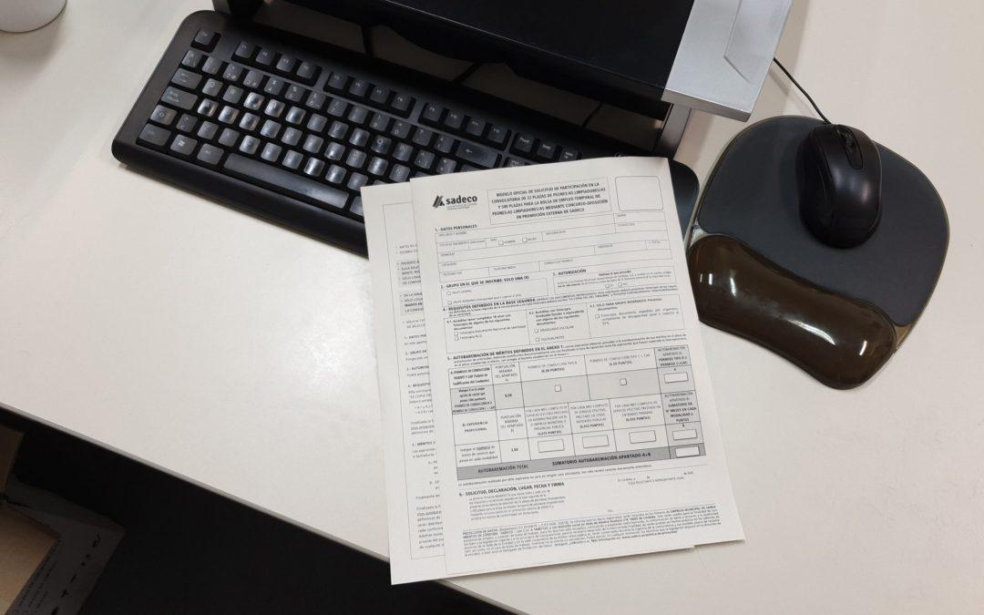 Mottiva es la empresa adjudicataria de SADECO para el desarrollo del listado de admitidos